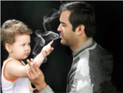 تاثیر نیکوتین بر فرزندان پدران سیگاری