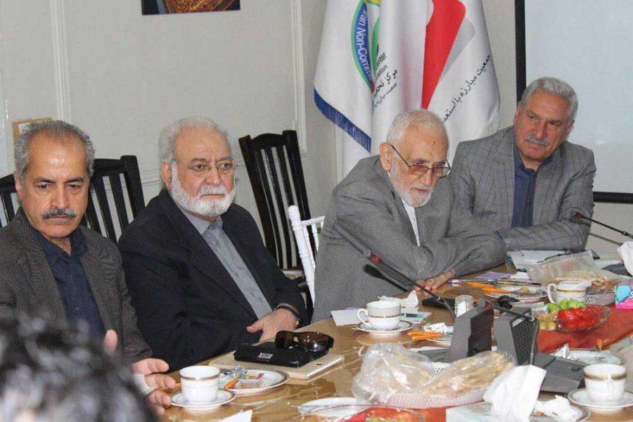 جلسه هیئت امناء جمعیت مبارزه با استعمال دخانیات
